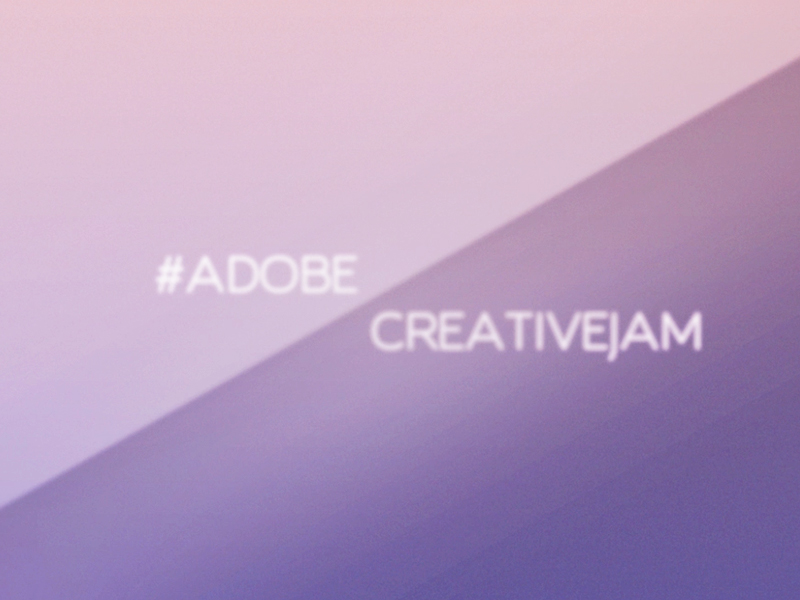 Motion graphics for Adobe Creative Jam Milan
