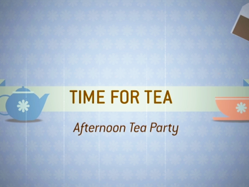 Motion Graphics for TimeforTea